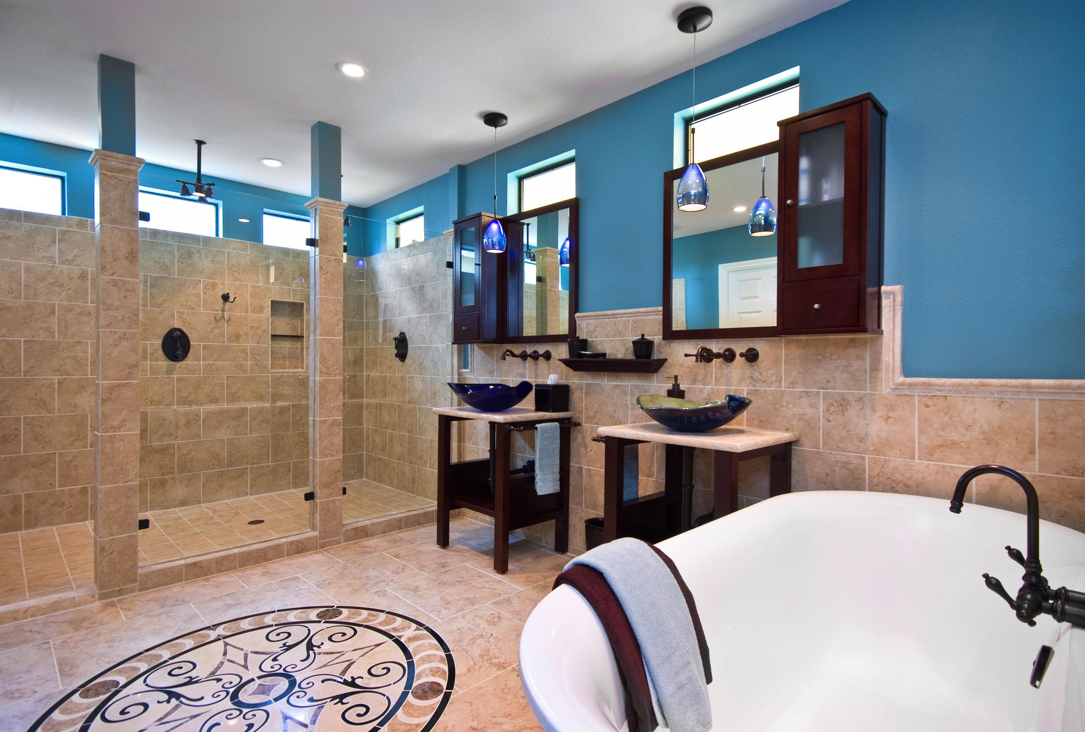 The Latest Trend In Open Shower Concept Master Bath Open showers