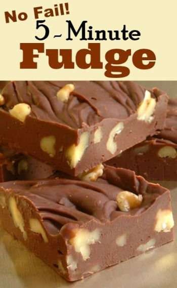 No Fail Chocolate Fudge Recipe