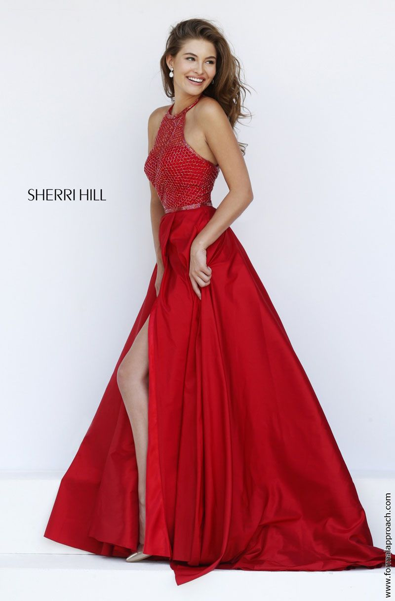 Red prom dresses 2017 sherri hill | Good style dresses | Pinterest ...
