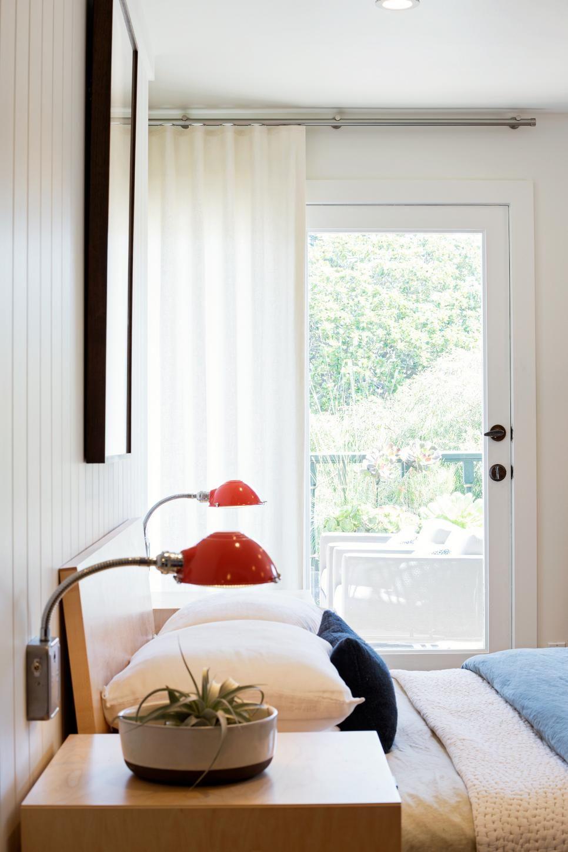 White Master Bedroom Boasts Patio Access White Master Bedroom Master Bedroom Retreat Cozy Master Bedroom