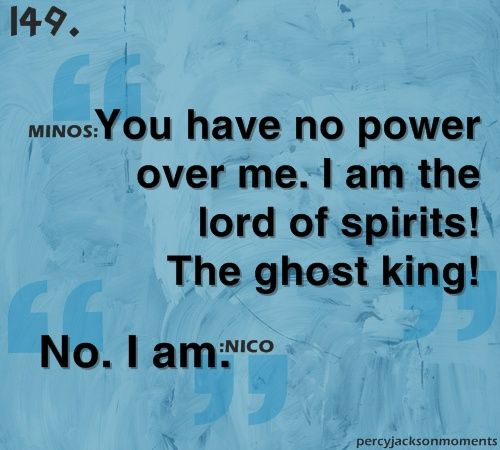 Guys. You do realize: Nico called himself The Lord of spirits. He fits the same discription as Anubis. Nico knew about the Romans, who's to say he doesn't know about the Egyptians? I know this is a crazy idea but still.