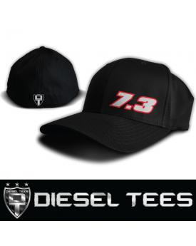 5a68d1ea629 7.3 Powerstroke FlexFit Hat available at www.DieselTees.com ...