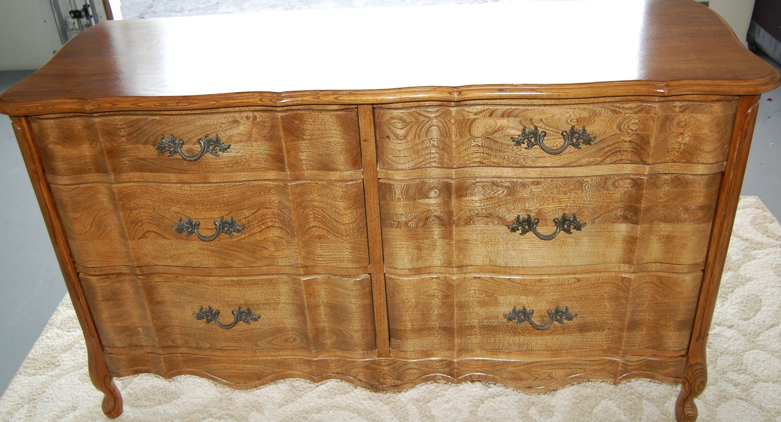 Restored 1960's French Provincial Dresser for a couple in