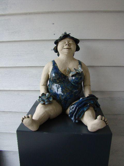 beelden van keramist karin zomerdijk limmen keramiek pinterest keramik t pfern skulpturen. Black Bedroom Furniture Sets. Home Design Ideas
