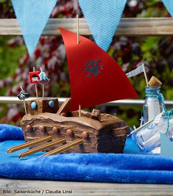 Rezept Piratenschiff Kuchen Pirat Kuchen Pinterest