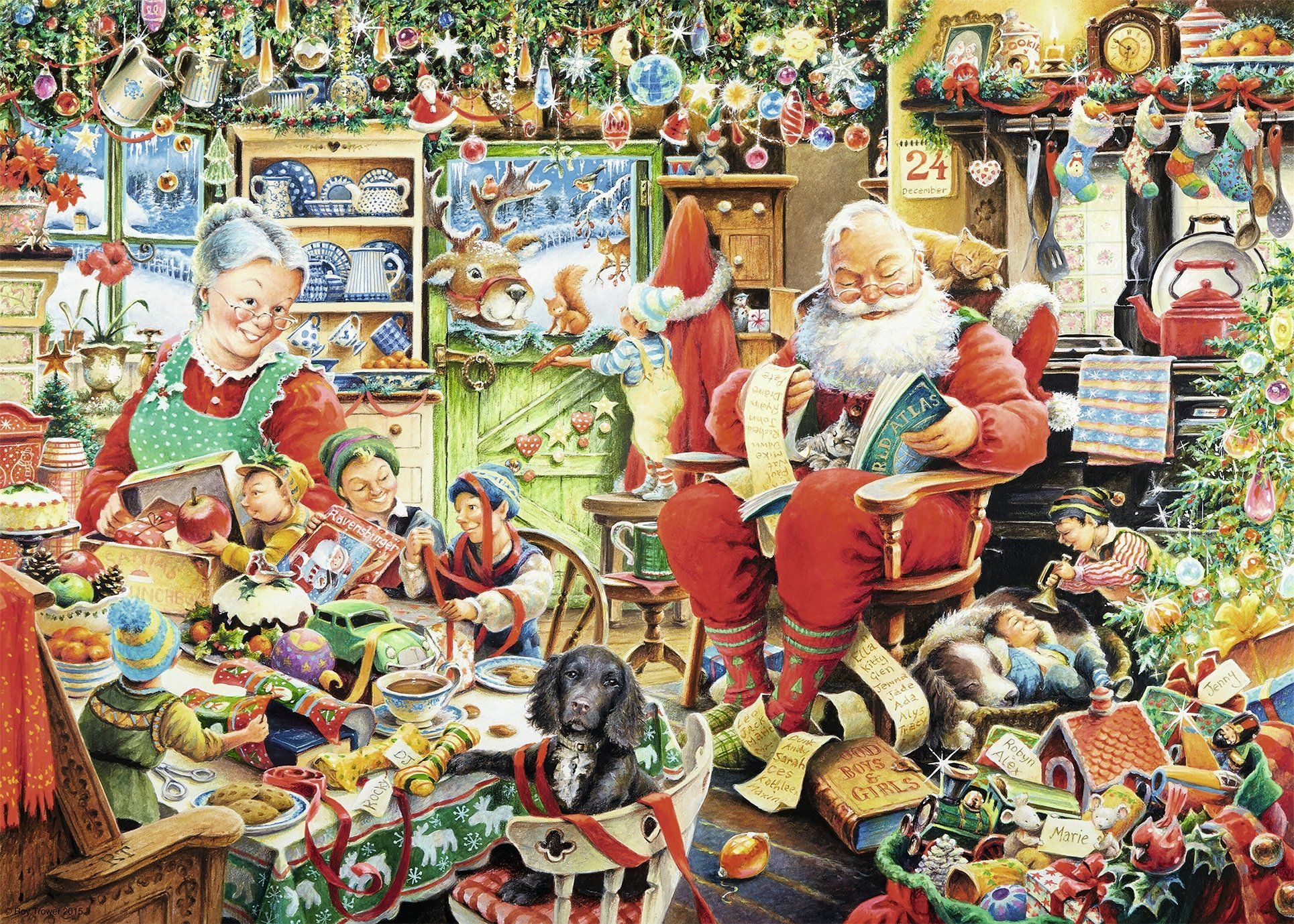 ravensburger christmas jigsaw puzzles are ideal for family fun and challenging enough for just about any jigsaw puzzler check out this awesome collection