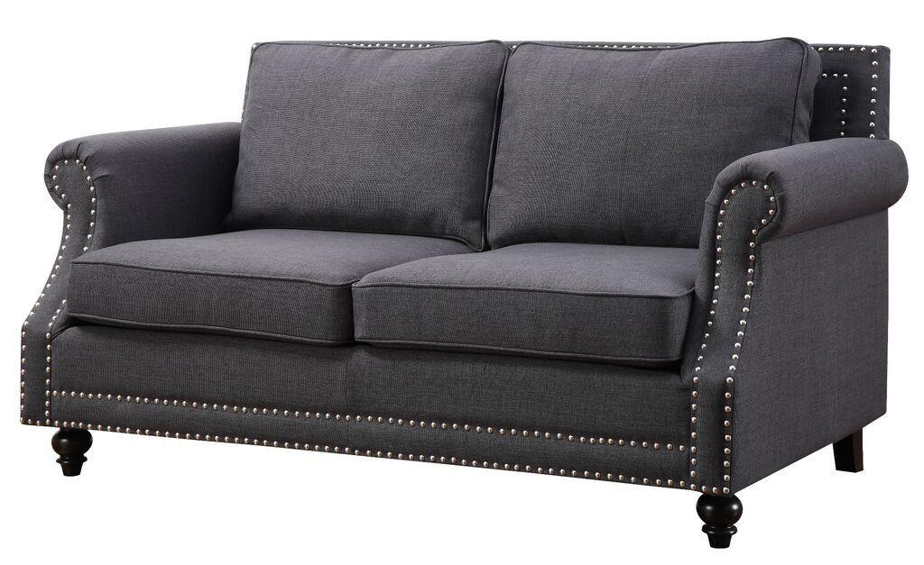Camden Grey Linen Sofa