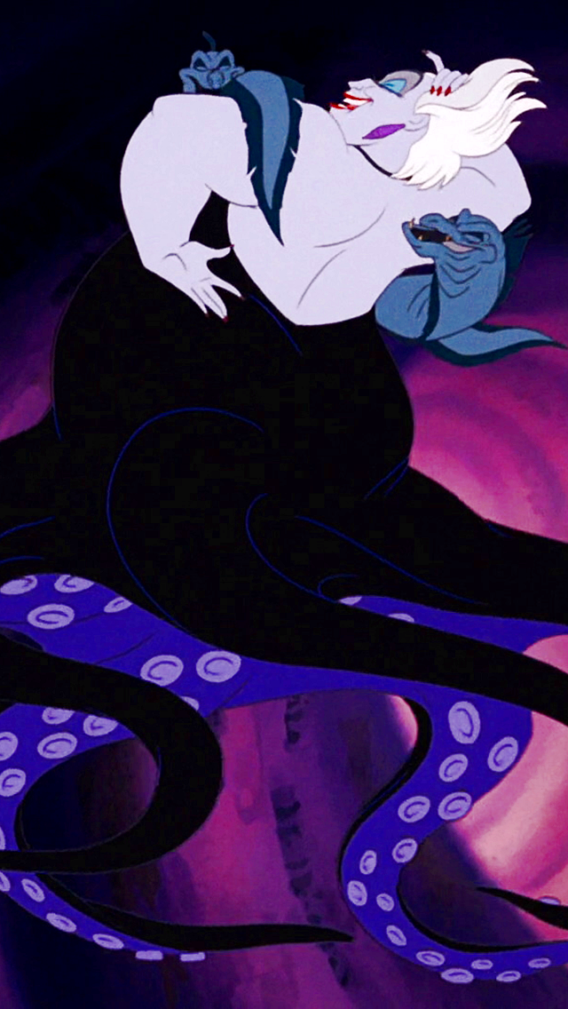 Image result for the little mermaid 1989 ursula