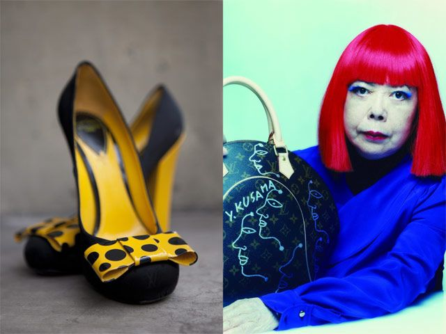 First look at Yayoi Kusama for Louis Vuitton