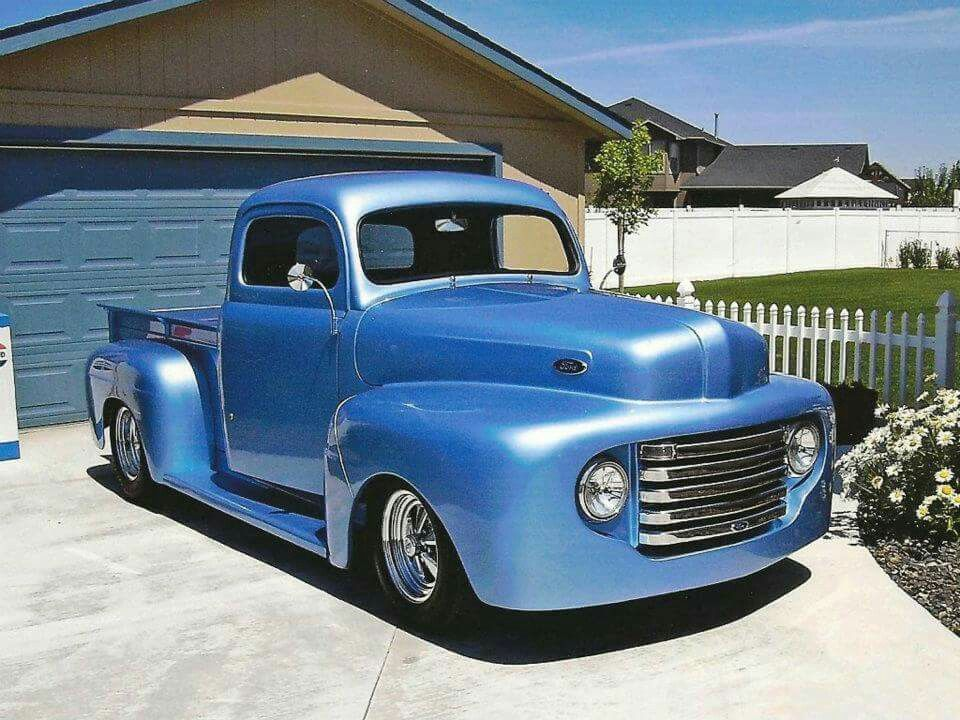 Spring Colors!🤗 1948 Ford F1 Pickup Truck