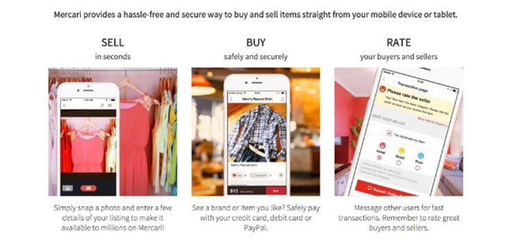 Mercari App Sell items, App, Shopping