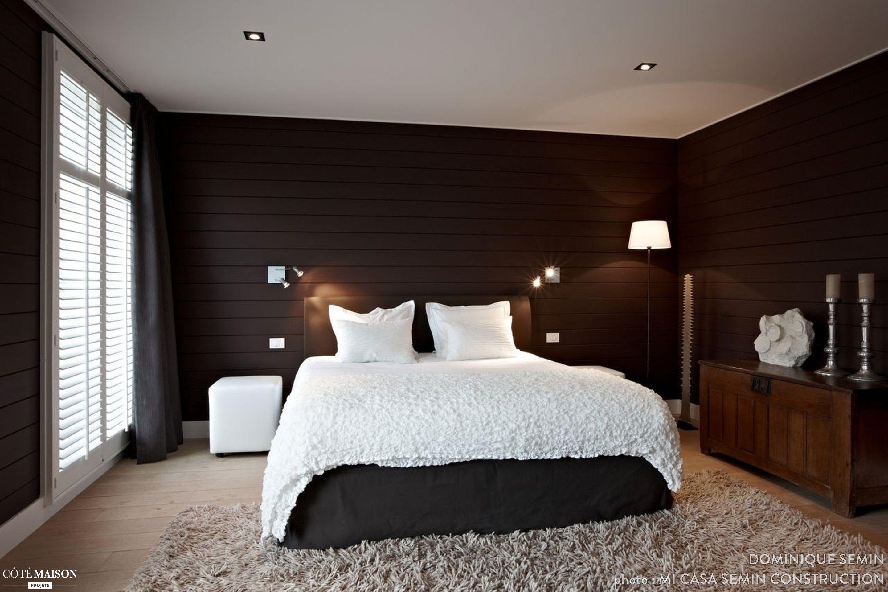 Deco Chic Chambre Adulte chambre à coucher à la déco chic et classique. lit blanc