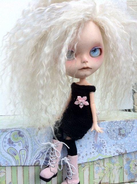 RESERVED for Pauline Custom Blythe Doll OOAK by EmmyBlythe on Etsy