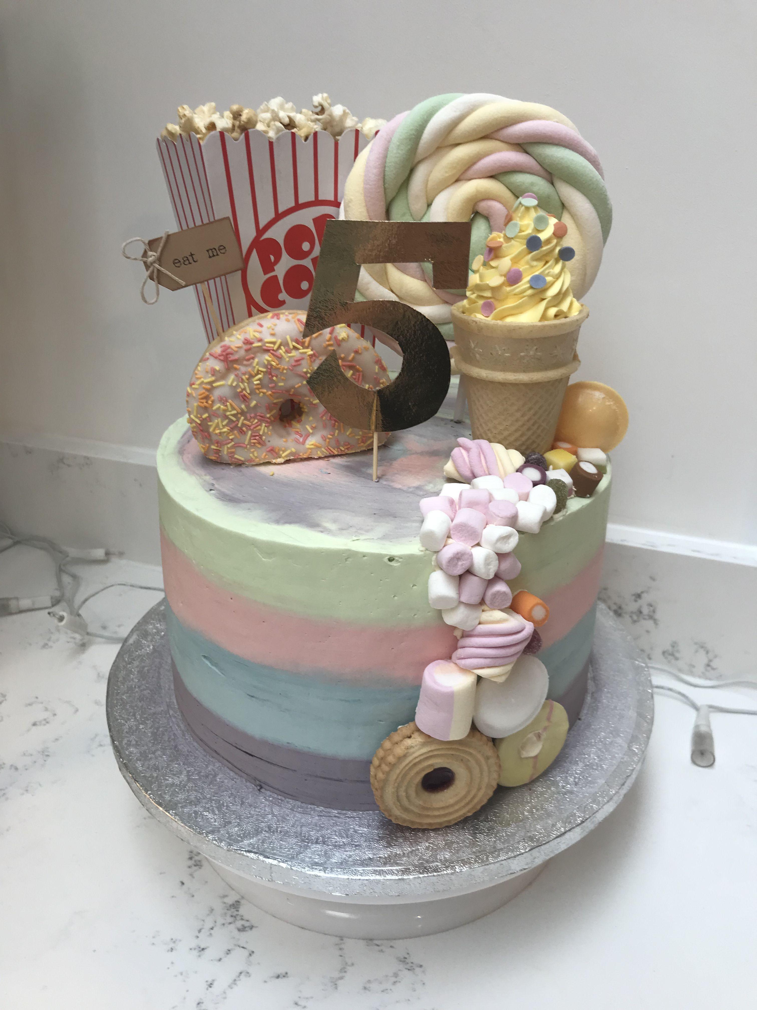 Birthday Cake Explosion Sweetie