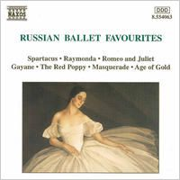 Russian Ballet Favourites by André Anichanov, St. Petersburg State Symphony Orchestra, Alexander Anissimov, Moscow Symphony Orchestra, Christopher Lyndon-Gee, New Zealand Symphony Orchestra, Andrew Mogrelia & Ukraine National Symphony Orchestra