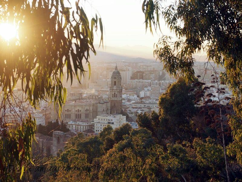 elämää ja elämyksiä: Gibralfago, Málaga