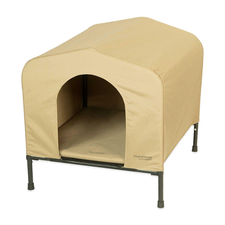 Portablepeta Large Houndhouse Elevated Pet Kennel Unbelievable