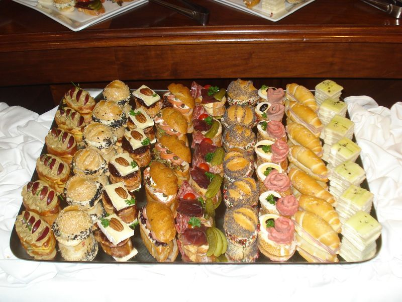 More beautifully displayed tea sandwiches! | Sandwiches | Pinterest