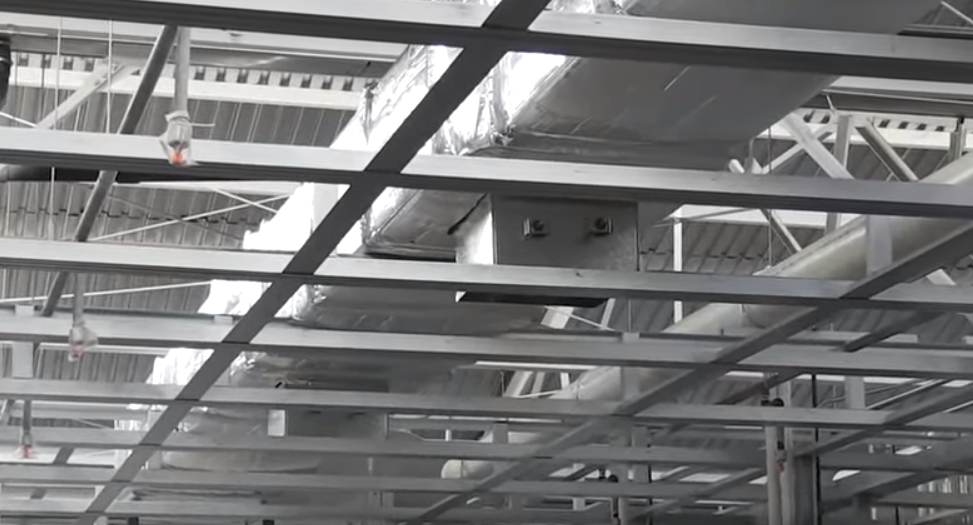 Even On Exposed Ductwork Infrastop Forms An Unobtrusive Energy Saving Barrier Against Radiant Heat Transfer Http Ww Hvac Duct Energy Efficient Homes Hvac
