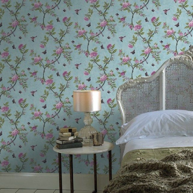 o trouver du papier peint floral papier peint floral papier peint et le papier. Black Bedroom Furniture Sets. Home Design Ideas