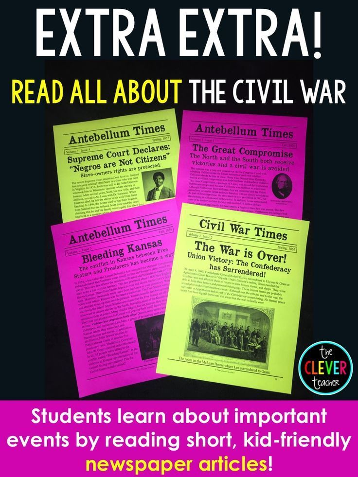 Civil War Unit In This 3 Week Unit Students Will Learn About The