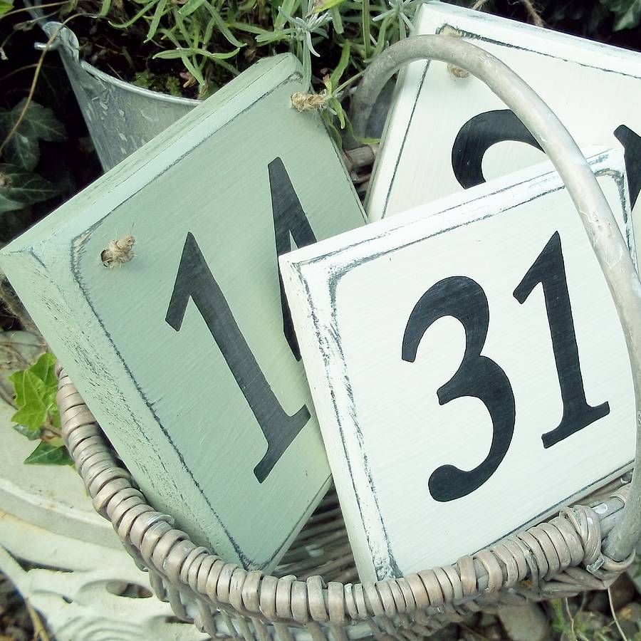 Are You Interested In Our House Number ? With Our House Number Sign You  Need Look
