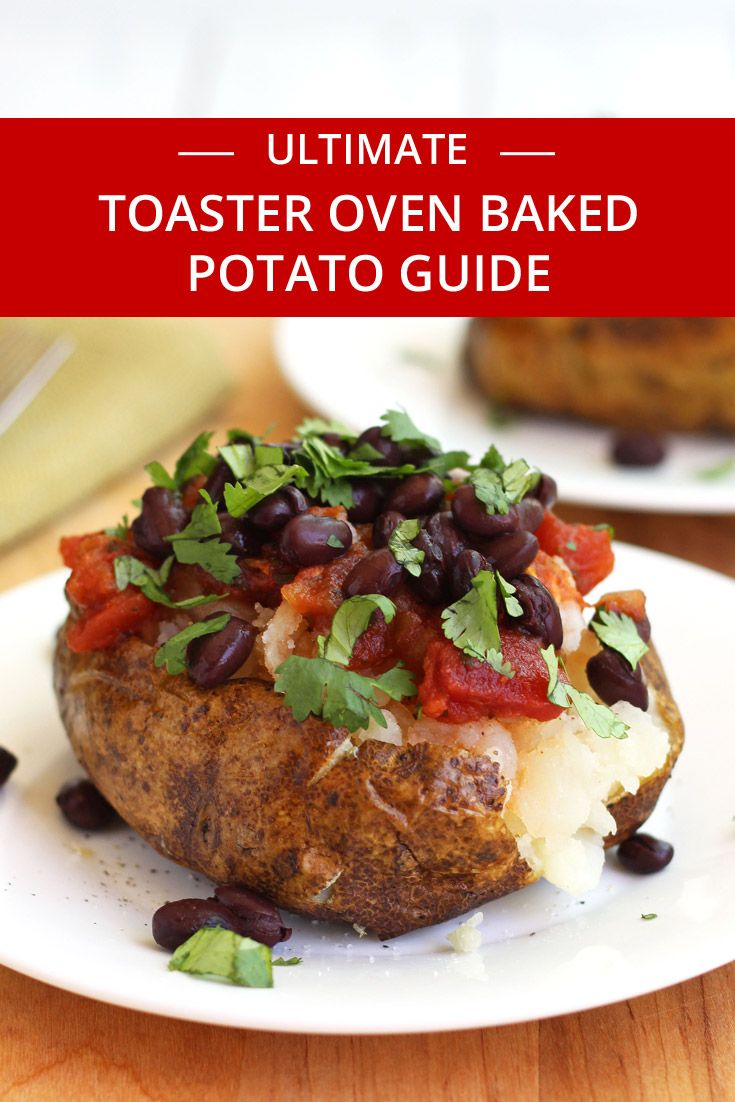 How To Toaster Oven Baked Potatoes Recipe Vegan Recipes
