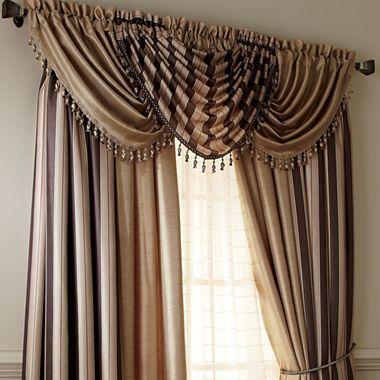 Fortune Faux Silk Window Treatments Jcpenney Window Treatments