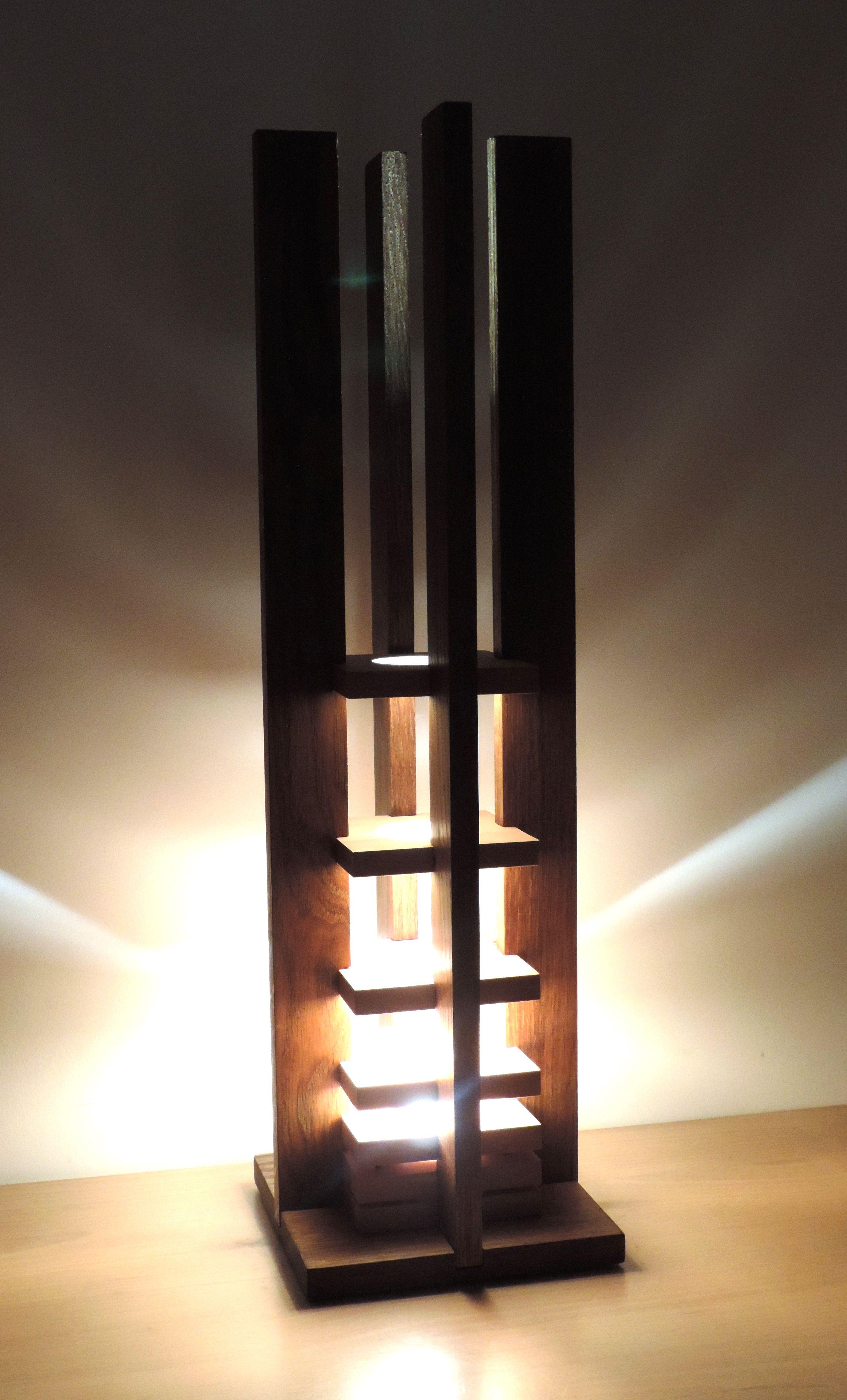 Galene By Kyle Dallman Wood Floor Lamp