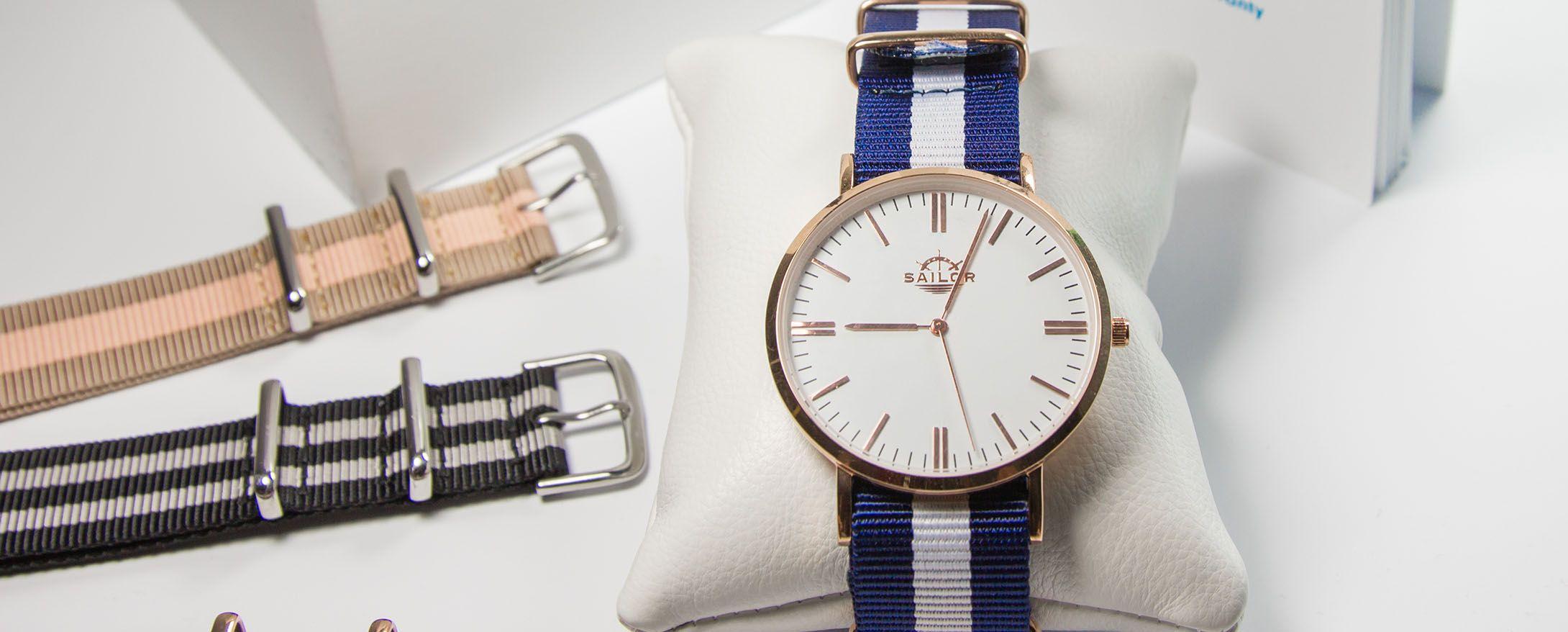 Uhr - Sailor-Watch - Nylonarmbänder
