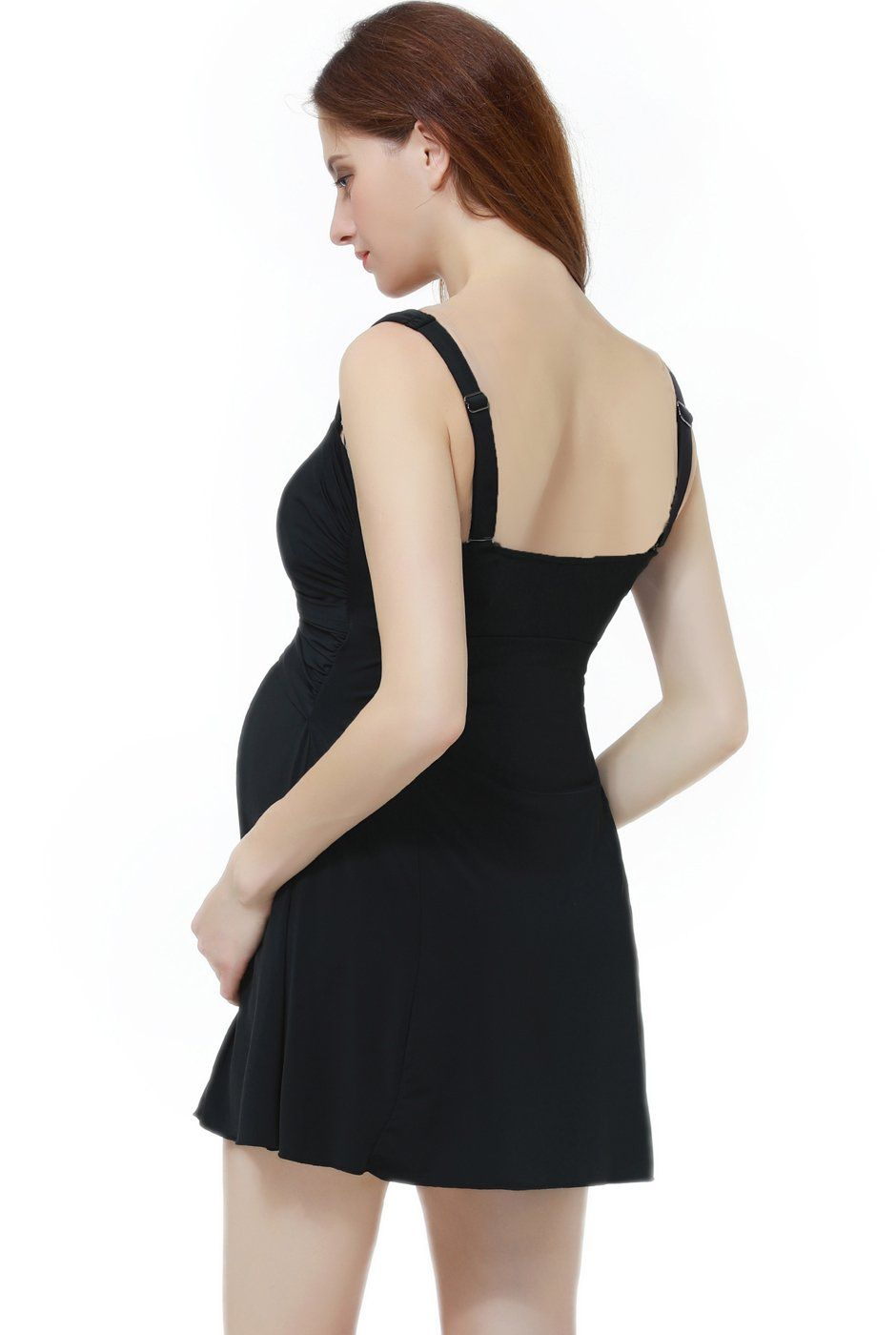 658cddf923fcd Maternity Fashion - machine washable maternity swimsuits : Momo Maternity  UPF 50 One Piece Swimdress M ** Check this remarkable product by going to  the web ...