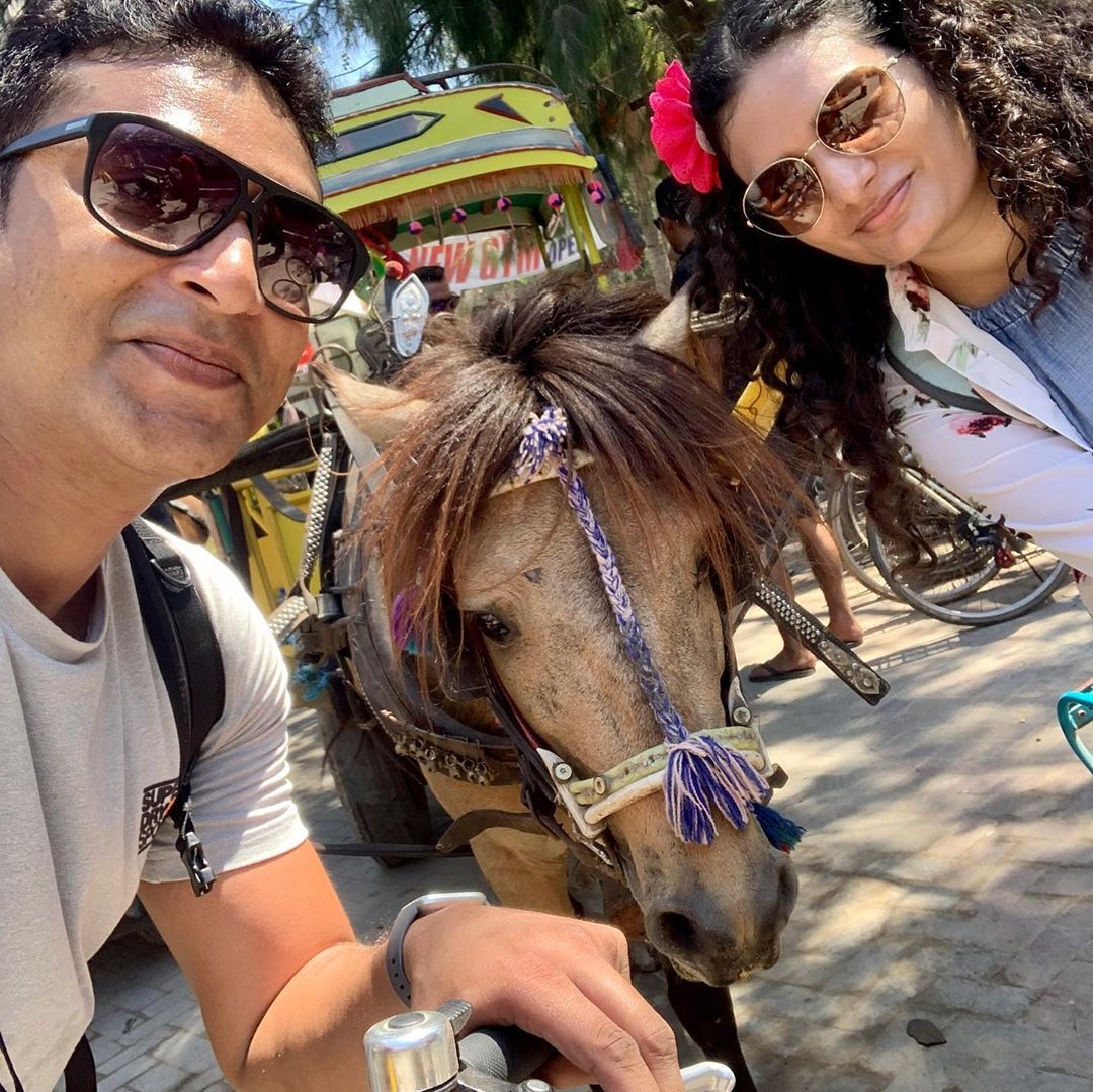 Horsing around in Gili Island #bali #giliislands #gili #horse #familytrip #love #family #ilovetravel