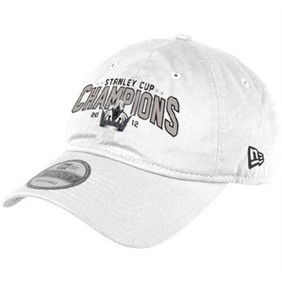 buy online a75ab 937cd New Era Los Angeles Kings 2012 NHL Stanley Cup Final Champions 9TWENTY  Slouch Adjustable Hat - White
