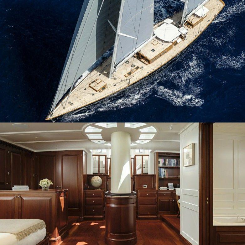 Aquarius Yacht 56m Classic Sailing Yacht By Royal Huisman And