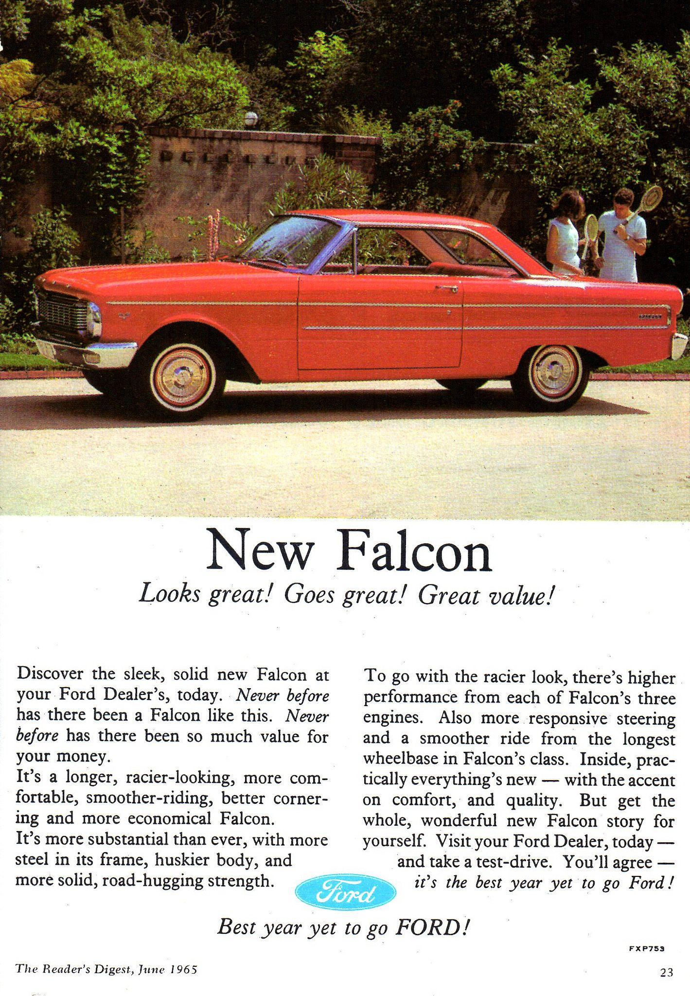 1965 XP Ford Falcon Hardtop Aussie Original Magazine