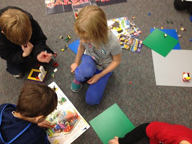 Makerspace in an elementary school library on a fixed for Apartment makerspace