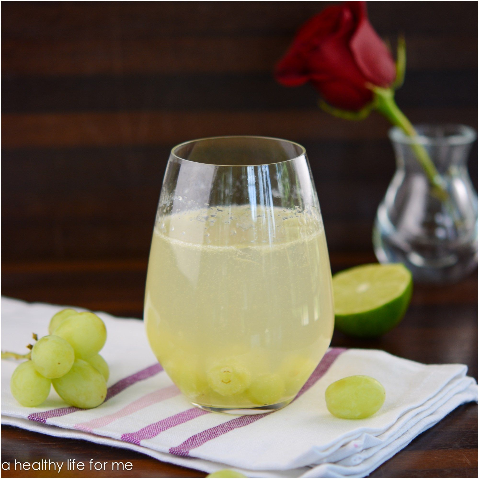 White Grape Margarita Recipe with Amy Stafford at www.ahealthylifeforme.com