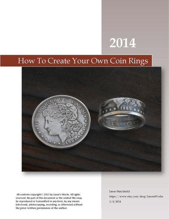 Training Manual on How to Make Double Sided Coin by JasonsWorks, $39.95