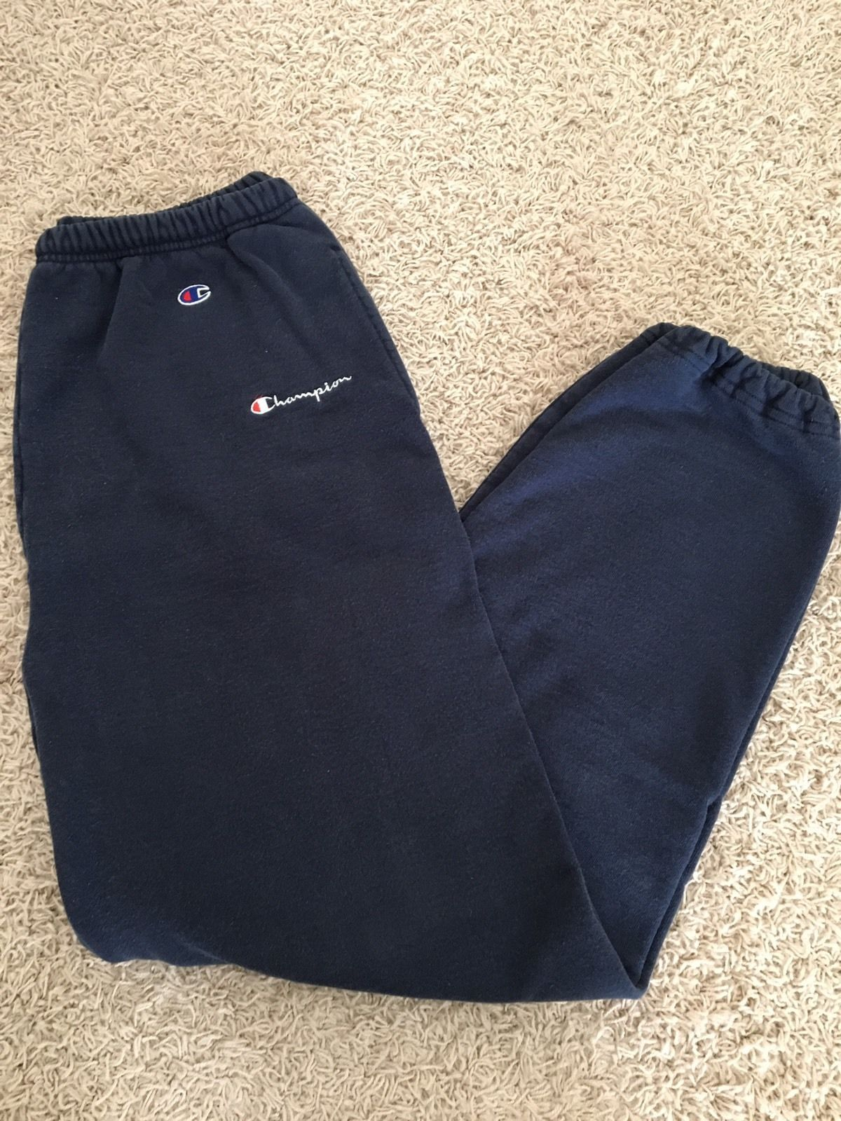 cf722e7d Vintage Champion Sweatpants Sz Large Navy Blue   Common Shopping ...