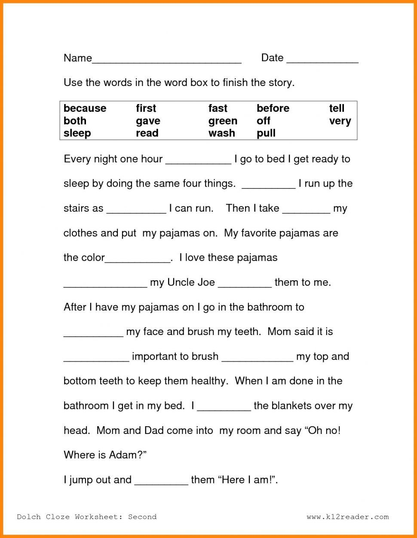 1St Grade Science Worksheets - Math Worksheet for Kids   2nd grade reading  worksheets [ 1251 x 970 Pixel ]