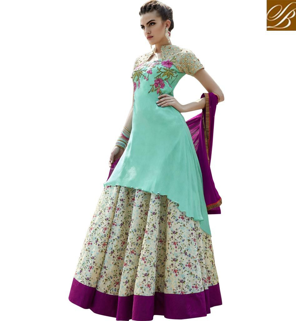 GORGEOUS LEHENGA KAMEEZ DRESS SUIT DESIGN FOR WEDDING AND PARTY ...