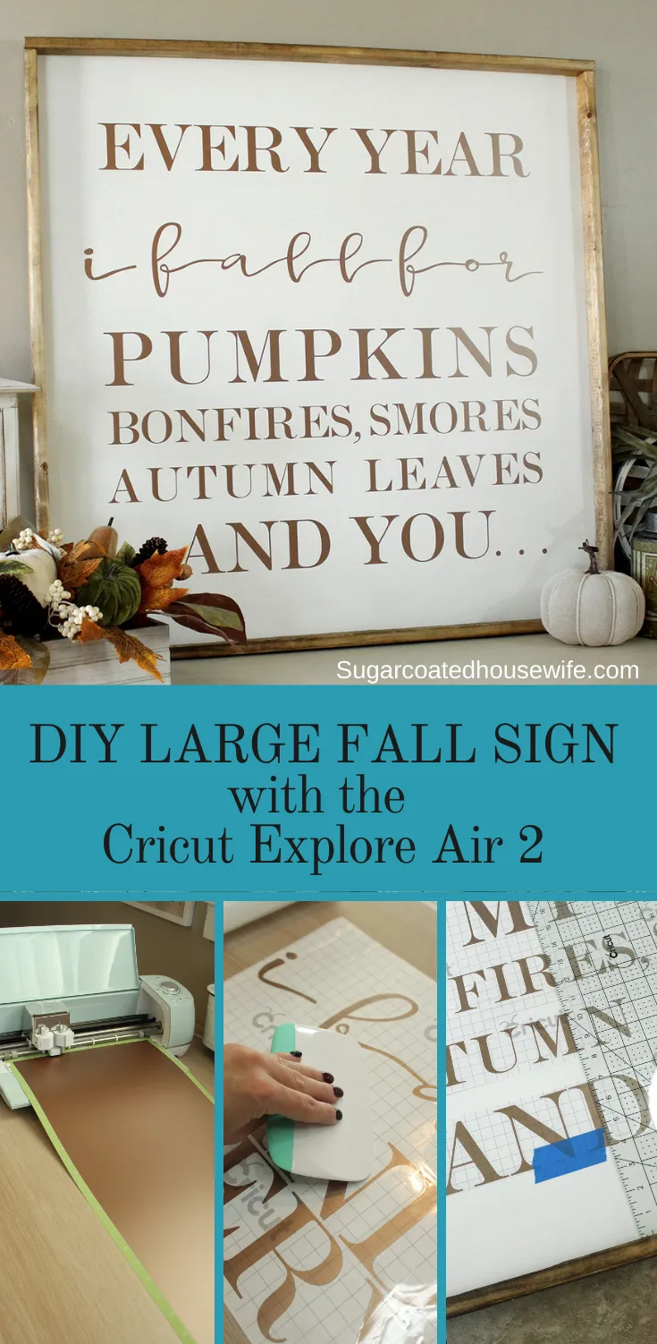 DIY FALL SIGN & TOP 5 REASONS I LOVE MY CRICUT EXPLORE AIR 2 #cricutexploreair2projects DIY FALL SIGN & TOP 5 REASONS I LOVE MY CRICUT EXPLORE AIR 2 #cricutexploreair2projects