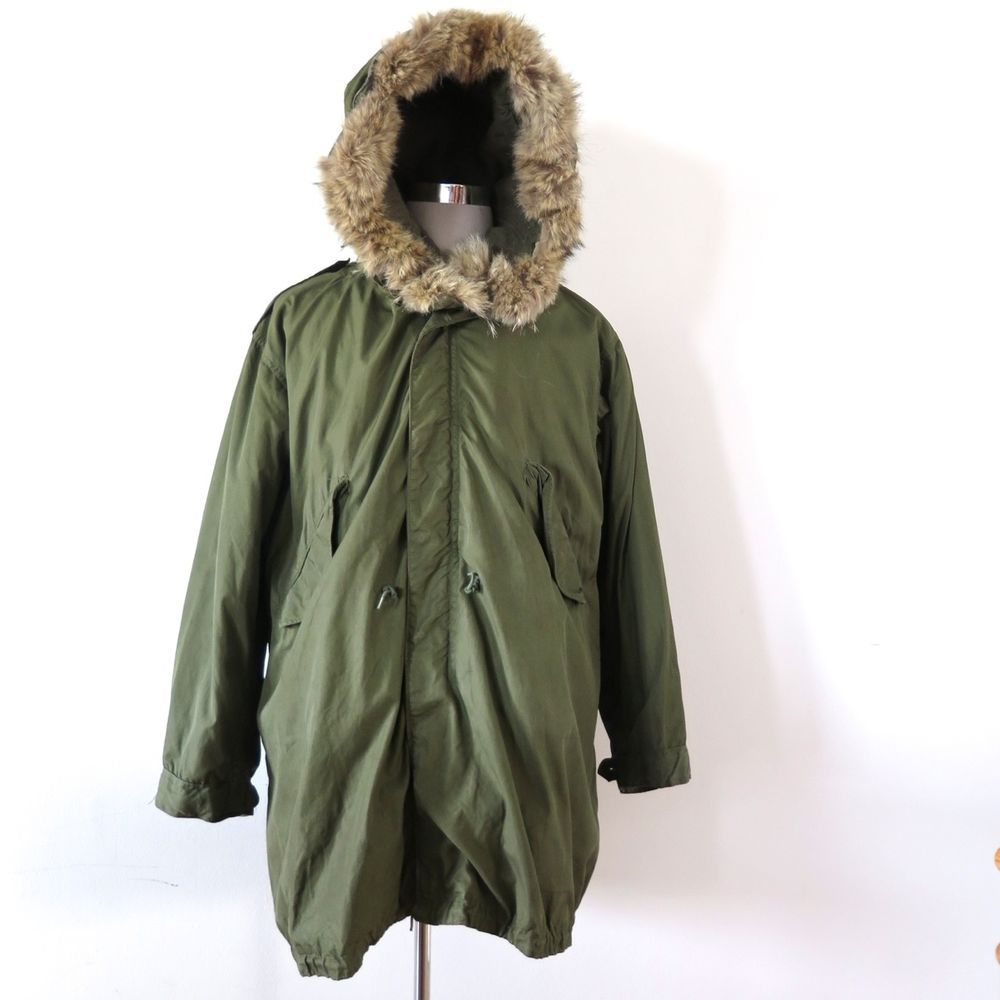 vintage military extreme cold parka | Vintage Original Korean War ...