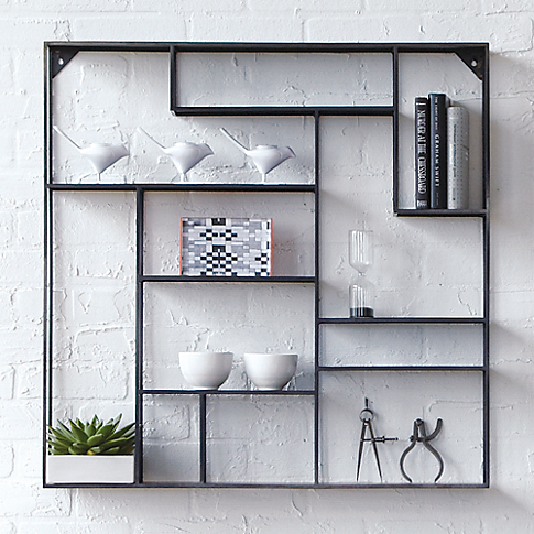 Alcove Wall Shelf In Storage Cb2 Decoraciones De Casa