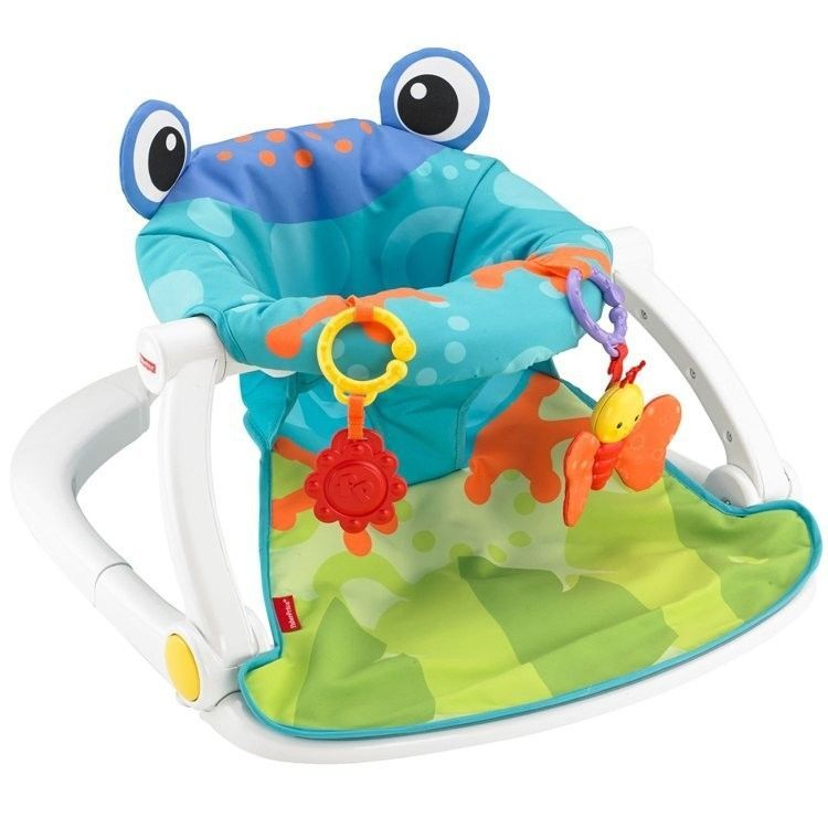 Baby Activity Center Portable Froggy Floor Seat Linkable Toys