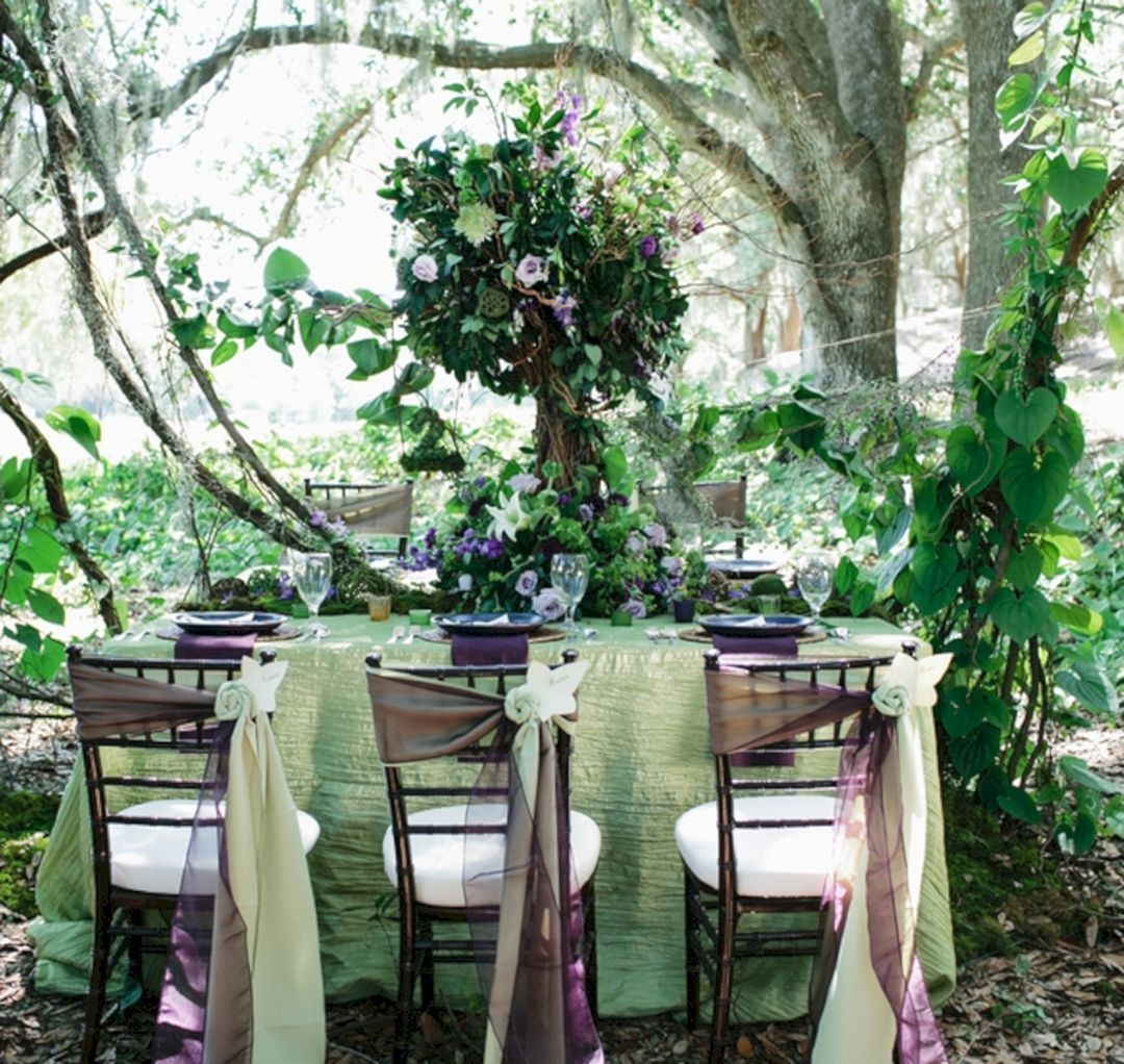 Wedding decoration ideas simple   Best Woodland Wedding Decoration Ideas For Simple Perfect