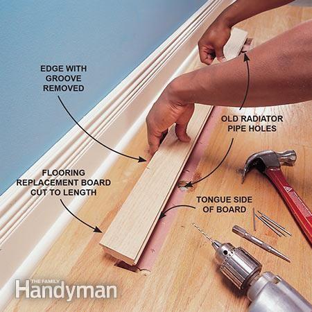 Hardwood Floor Repair How To Patch A Hardwood Floor Diy Pinterest