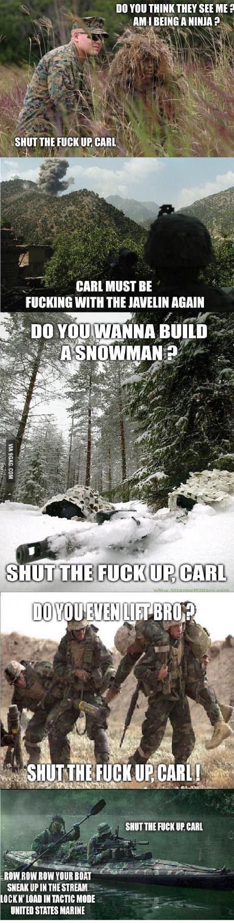 Carl's at it again