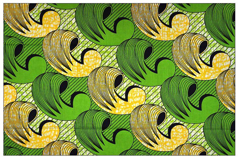 tissu africain wax au metre