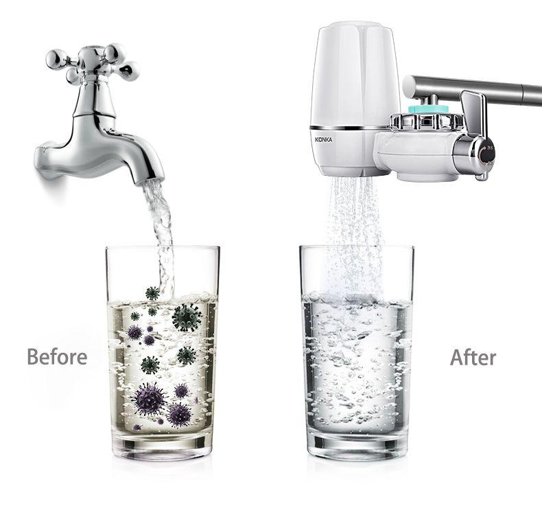 Konka Mini Tap Water Purifier Kitchen Filtered Water Faucet Water Purifier Basin Taps